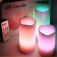 Hot sale flameless led candle light with remote control led candle