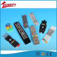 Quality ODM OEM Silicone Rubber Remote Controller Keypads Car Machine Button key pads