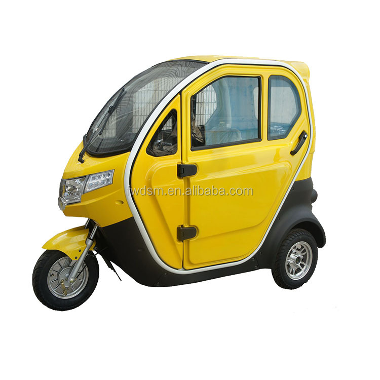 New design electric tricycle for handicapped
