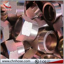 Cloth and smooth surface steel transition pipe fittings