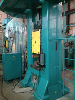 Hot closed type forging press