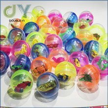 45mm mixed gashapon capsule toys, plastic surprise egg toy for kids