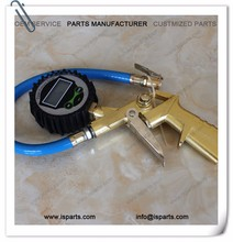 Electric Zinc alloy Car Vehicle Tire Inflator Gun With Flexible Hose