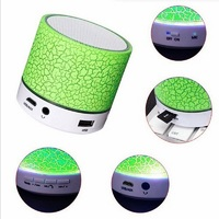 Universal cheap price Hands Free Colorful Mini Wireless LED S10 Speaker for iPhone x and Samsung