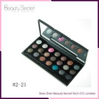 Eye use Best selling 21colors cosmetic pearly luster eyeshadow makeup palette