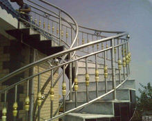 304 stainless steel prefabricated stairs