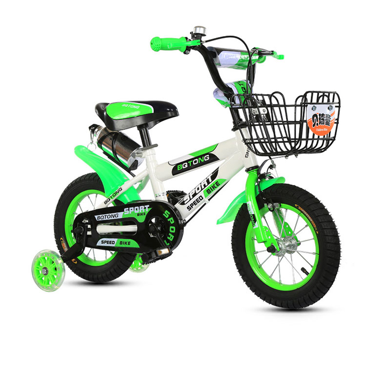 10.6kg bright colors mini 4 wheel first training balance bike