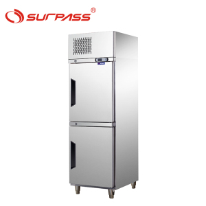 2 Doors Upright Refrigerated Cabinets for GN pans