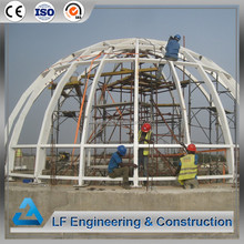 New type prefabricated geodesic dome houses