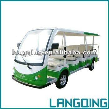 electric shuttle bus LQY140AN with gearbox