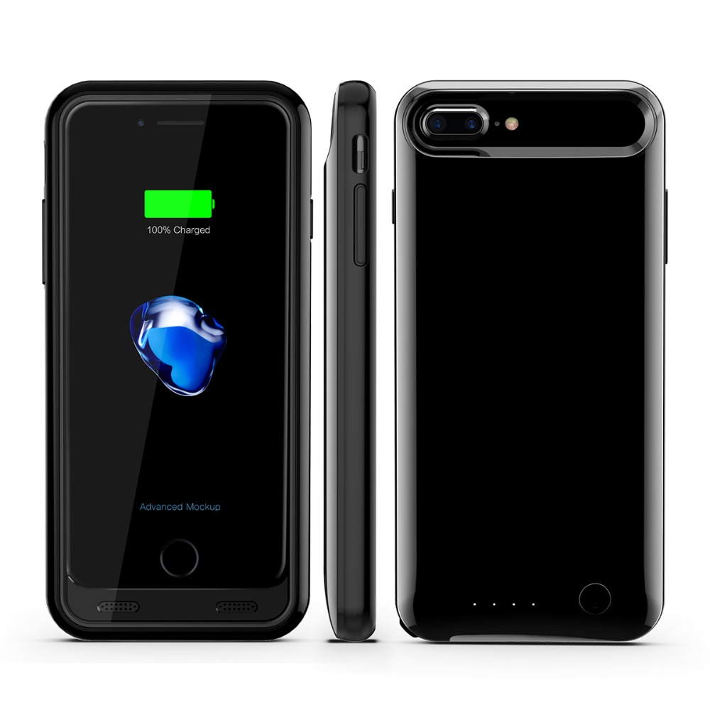 for iphone 7 plus battery power case support IOS10/Backup power bank case for ihone 7