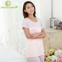 OEM&ODM maternity clothes fashion design simple sleeveless ladies nighty