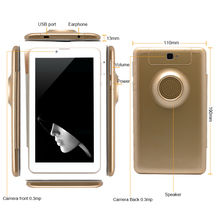 CE ROHS Trade Insurance 7 inch 3G GSM Android Phone Tablet PC MTK6572 Android 1.52GHz WCDMA Phablet Dual Sim Phone