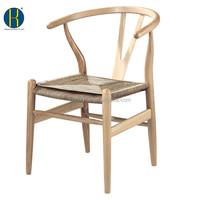 Natural ASH/OAK Solid Wooden Bedroom Chair for Living Room Furniture