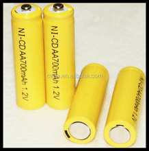 Best Price CEBA 1.2v AA 700mah ni-cd battery high quality