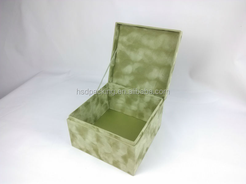 2015 new products small velvet box wholesale payment asia alibaba china