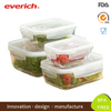Everich Hotsale Borosilicate Clear Glass Lunch