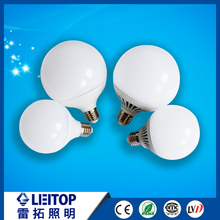 15w led round lamp lighting bulb factory price