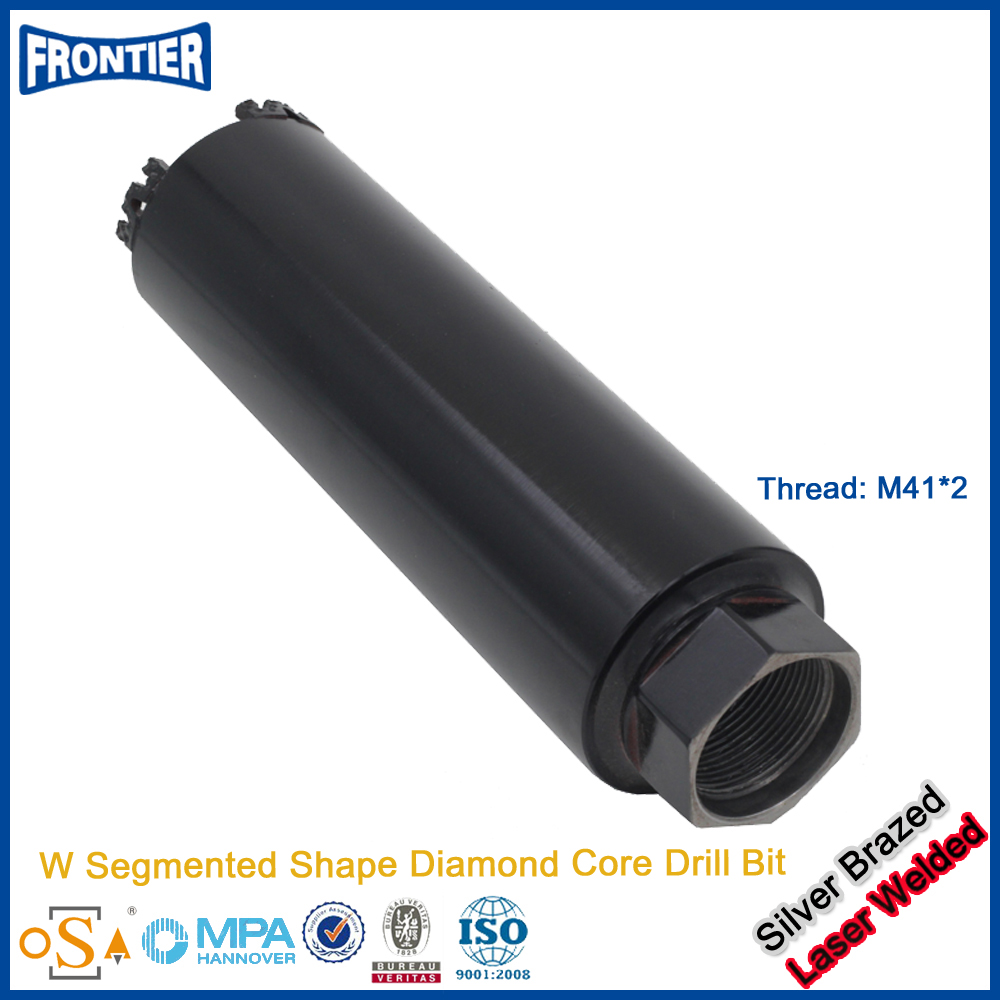 Top level professional long length diamond core drill bit