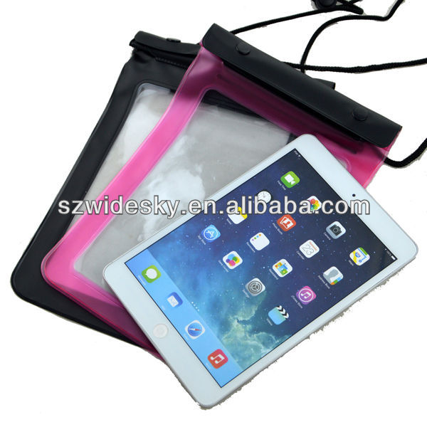 High Quality Waterproof Bag with Strap for iPad mini/ Mini 2