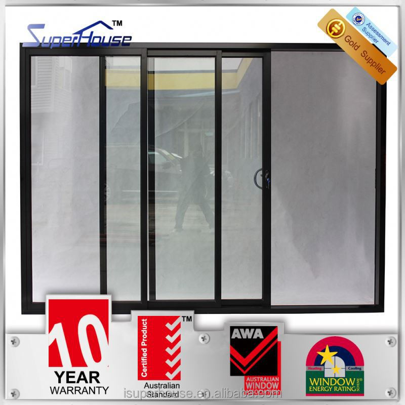 Superhouse Soundproof AS2047 standard commercial aluminum doors with Dor Corning silicon sealant