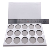 Factory private label white empty eyeshadow palette