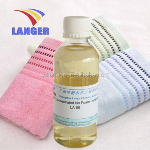 Chemical Company Hight Concentrated No Foam Wetting Agent LA-99