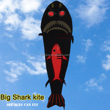 Weifang hot sale 6m big shark kite easy to fly