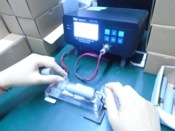 Battery resistance testing