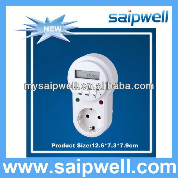 2013 NEW 230VAC 16A DIGITAL WATER TIMER FOR HOME USE