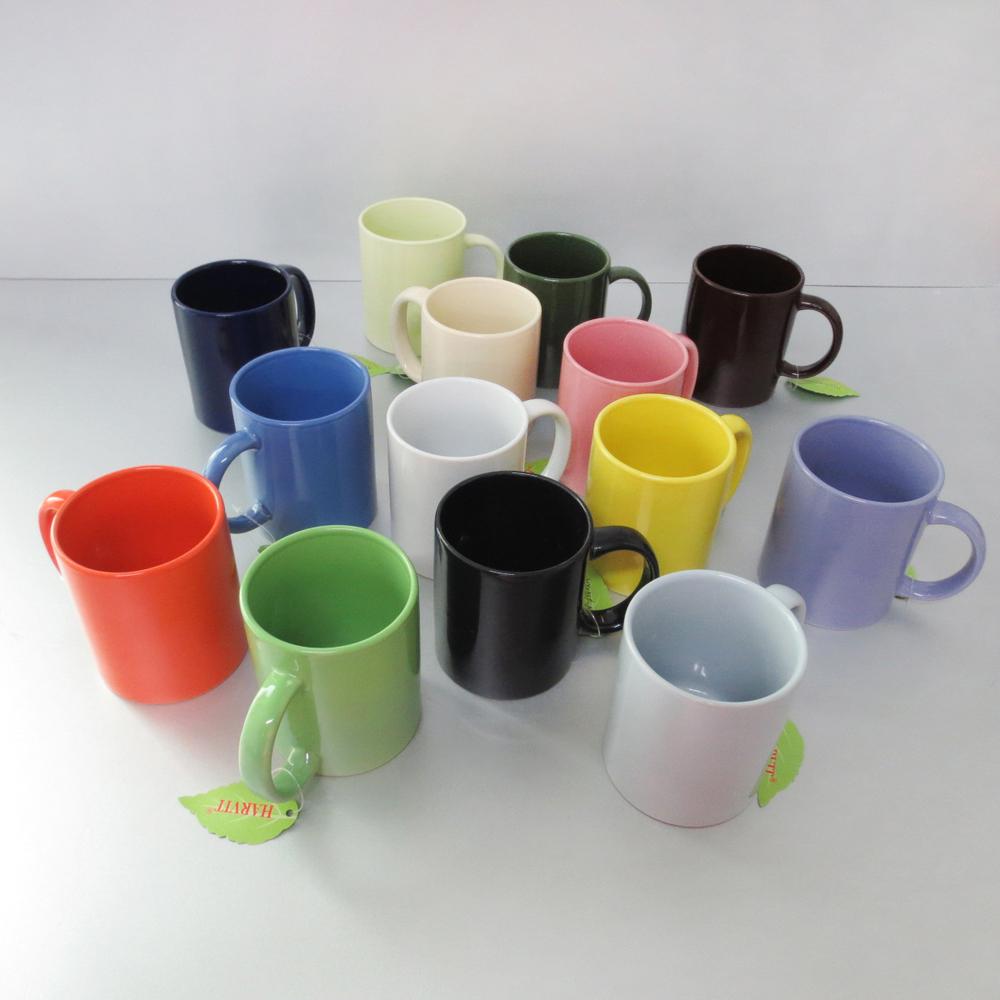 1 Dollar Store Items Glaze Color Ceramic Coffee Mug V