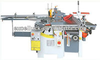 Universal woodworking machine with saw and planer