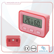 Private Label Min Max Humidity Temperature Digital Thermohygrometer With Magnetic Backing
