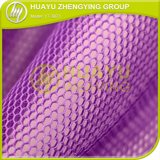 warp knitted polyester 3D mesh fabric for dressing