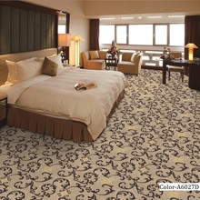 High Quality Oriental Design Floral Pattern Wall to Wall Carpet