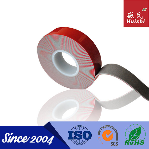 Weather Resistance 1mm Thick Single Sided Foam Adhesive Tape
