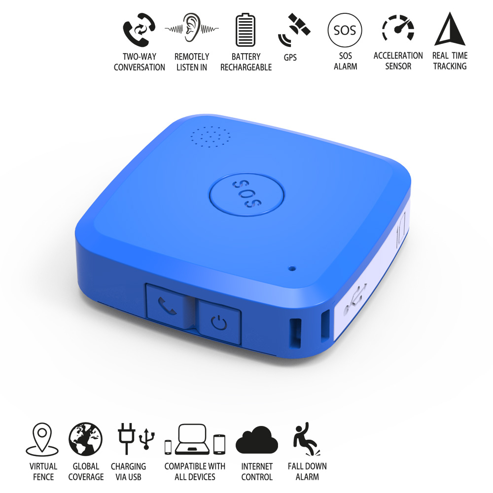 Online tracking system smallest human gps tracking device