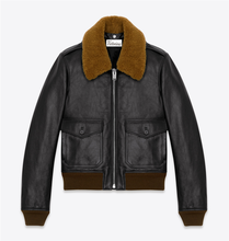Custom Fashion Windproof Leather Jacket Made in China