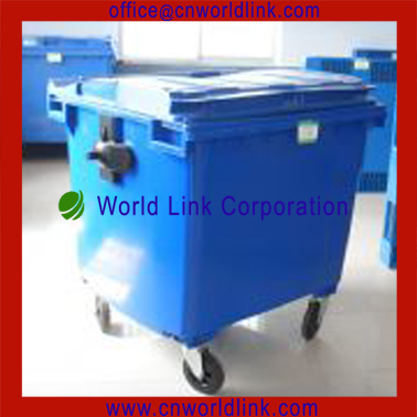 1100L Heavy Duty Cheap And Elegant Plastic Trash Bins