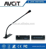 Conference Table Microphone HD Camera, Voting System, Open Control Protocol,Audio Conference Console