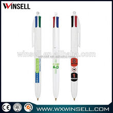 Hot sale durable plastic cheap polymer clay ball pen