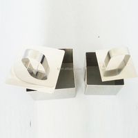 Seamless Stainless stell square shape mousse mould cake mould