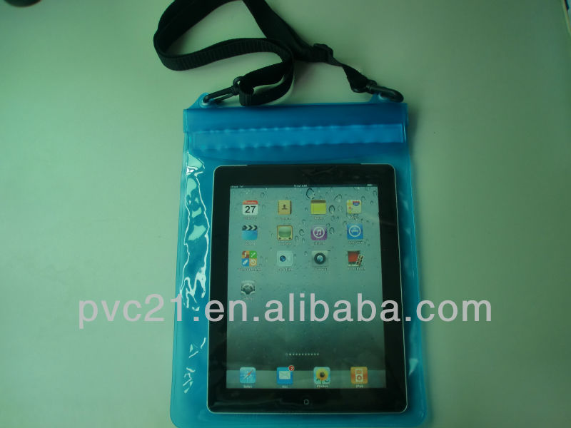 clear packaging PVC plastic waterproof case for Ipad