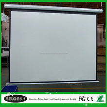 Brand new motorized projector screen 120 16:9 with certificate