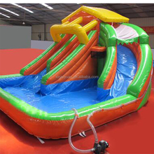 High quality outdoor big plastic water slide
