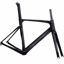 China Taiwan carbon bike frame UD 3K Aero DI2 C brake Road Racing Carbon Bike Frame