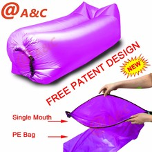 New Premium Single Mouth Opening Inflatable Air Sofa, World Best Selling Products Free Patent Design Inflatable Air Sofa^