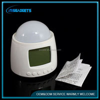 Pretty digital alarm clock ,H0T562 digital talking alarm clock with projection for sale