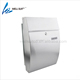 waterproof Semi Curve lockable mailboxes stainless steel modern uban style