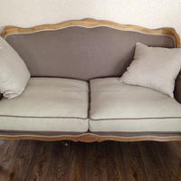 French Style Armrest Salon Chair With
